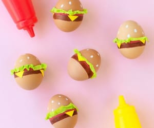 burger, easter, and food image