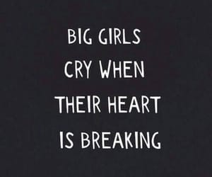 cry, girls, and heart image