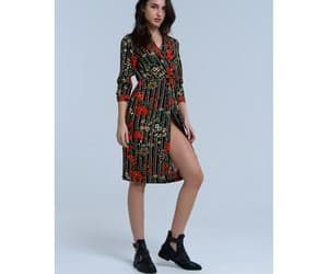 clothing, dresses, and women image