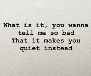 life, quiet, and quote image
