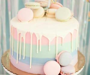 cake, pastel, and yummy image