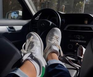girl, adidas, and car image