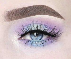 aesthetic, eyes, and pastel image