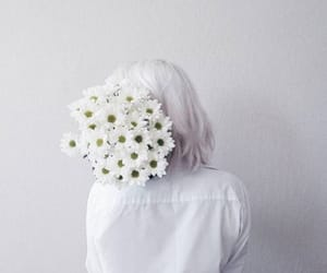 alternative, girl, and white image