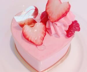 pink, pastel, and strawberry image