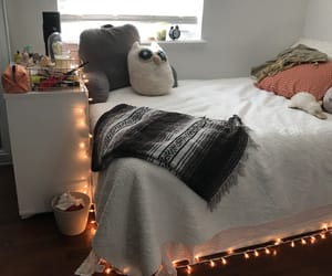 bed, blanket, and cosy image