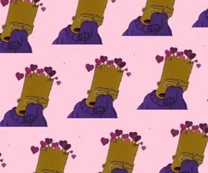 aesthetic, bart simpson, and iphone image
