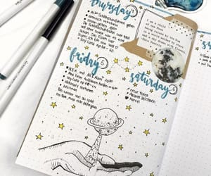 ich, journal, and bullet journal image