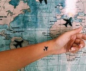 explore, visit, and globe image