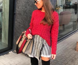 red and skirt image