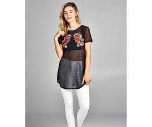 clothing, shirts, and spring image