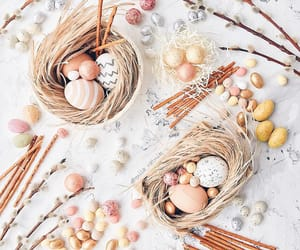 breakfast, decor, and easter image