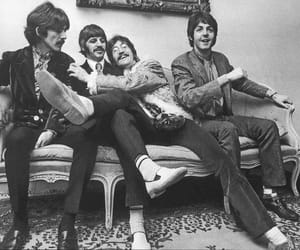 george harrison, Paul McCartney, and john lennon image