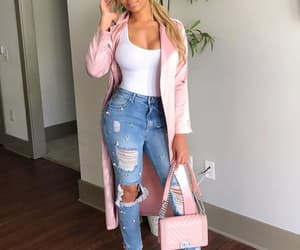 accessories, jeans, and purse image