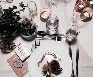 food, chic, and flowers image
