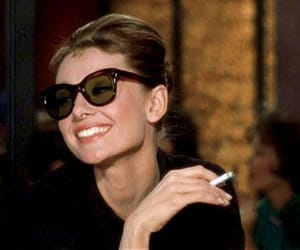 audrey hepburn, Breakfast at Tiffany's, and smile image
