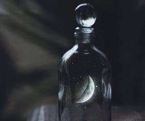 moon, gif, and night image