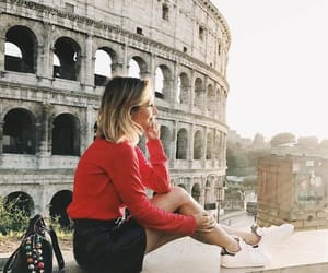 architecture, girl, and destinations image