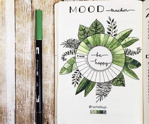green and bullet journal image