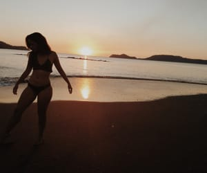 amor, beach, and bikini image