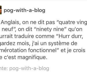 english, french, and funny image