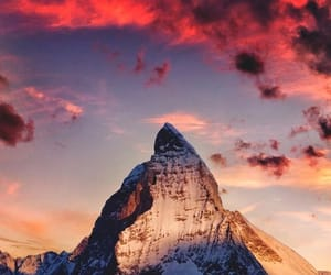 mountains, nature, and sky image