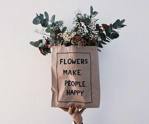 flowers, aesthetic, and happy image