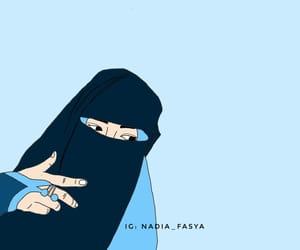 beautiful, blue, and cartoon image