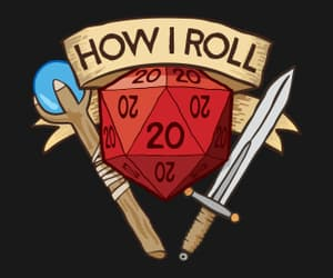 d&d, roll, and dungeons and dragons image