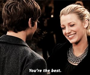blake lively, Chace Crawford, and gif image