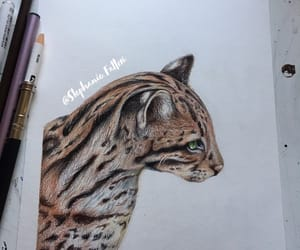 art, prismacolor, and coloured image