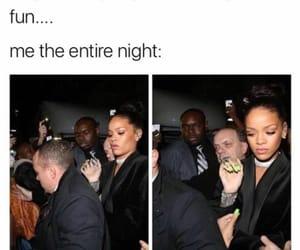 memes, party, and rihanna image