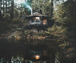 home, nature, and silence image