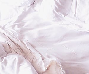 white, bed, and aesthetic image