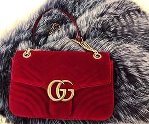 bag, fashion, and fur image
