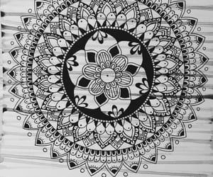 art, black, and dibujo image