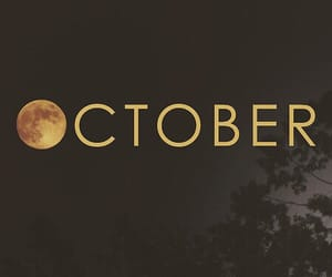 october, month, and hello october image