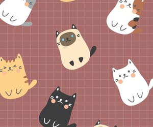 cats, drawing, and cute image