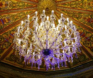 beautiful, chandelier, and photograhy image