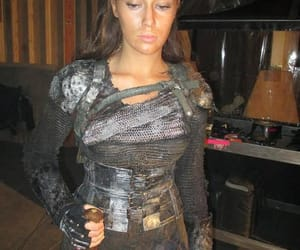 girl, the 100, and outfit image