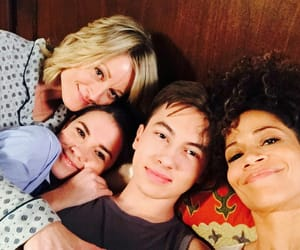 teri polo, maia mitchell, and the fosters image