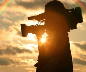 camera and film image