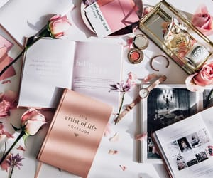 book, express, and pink image