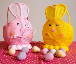 bunny, easter, and diy image