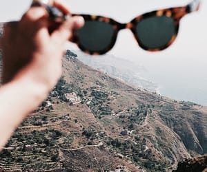 indie, mountains, and sunglasses image