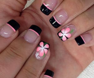 black, flowers, and goals image
