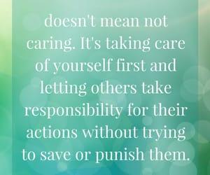 self love, detachment, and self care image