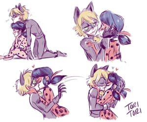 miraculous ladybug and Chat Noir image
