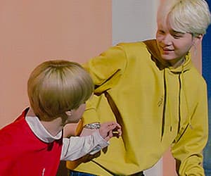 boy, jin, and tae image