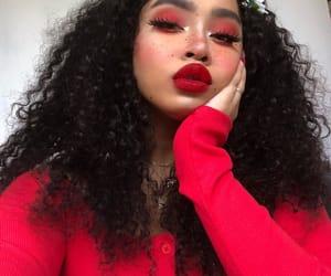 cool, girl, and makeup image